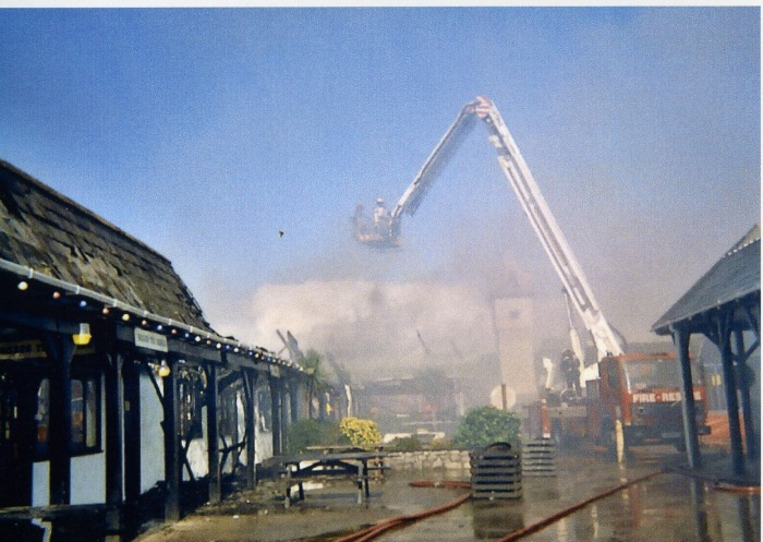 Incidents Trago Mills Newton Abbot Fire Station Devon
